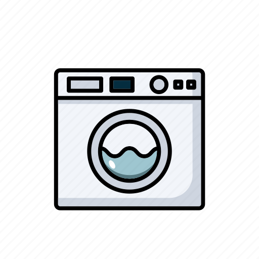 appliances, dryer, kitchen, machine, washing icon