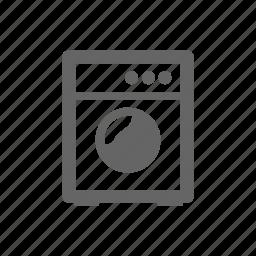 kitchen, wash icon