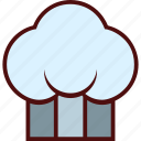 cap, chef, cooker, cooking, hat, kitchen icon