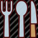 clutery, eating, fork, knife, set, soon, utensil