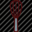 baloon, beater, hand, mix, utensil, whisk