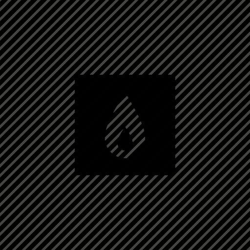 flame, gas, kitchen, oven icon