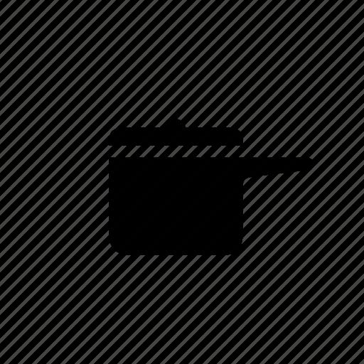 kitchen, pan icon