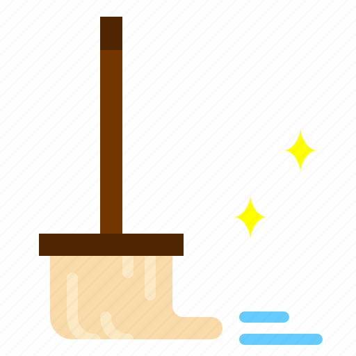 cleaner, cleaning, mop, tool icon