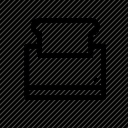 Toaster, bread, breakfast, food, kitchen, toast icon - Download on Iconfinder