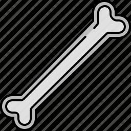 bone, food, kitchen icon