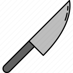 chopping, cooking, equipment, kitchen, knife icon
