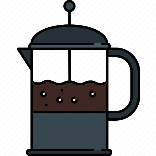 breakfast, coffee, equipment, kitchen, maker icon