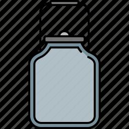 canister, equipmetn, kitchen, milk icon