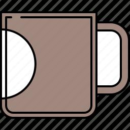 coffee, cup, drink, kitchen, mug, tea icon