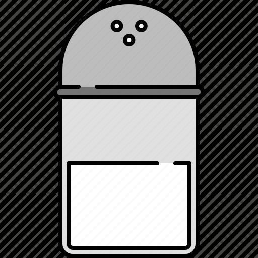 cooking, equipment, kitchen, salt, taste icon