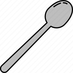 cooking, cutlery, kitchen, spoon, tool icon