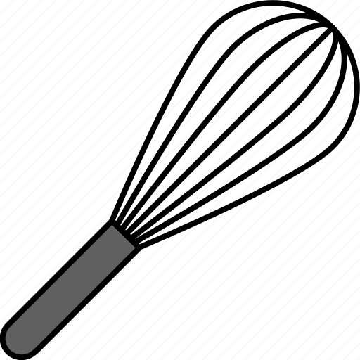 cooking, equipment, kitchen, spurtle, tool icon