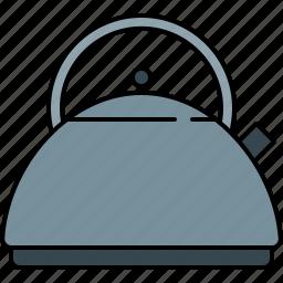boiler, heater, kettle, kitchen, tea, water icon