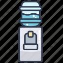cooler, dispenser, drink, water, watercooler