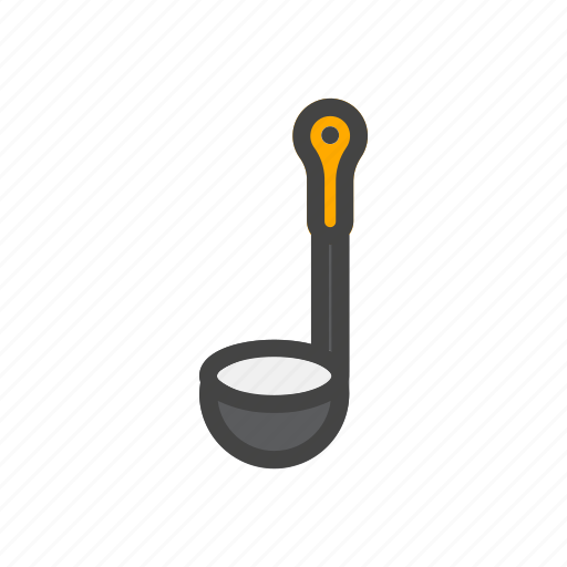 chef, cook, food, kitchen, scoop icon