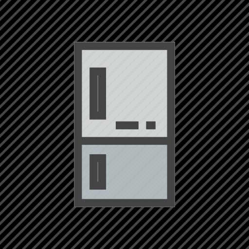 chef, cook, food, freezer, kitchen, refrigerator icon