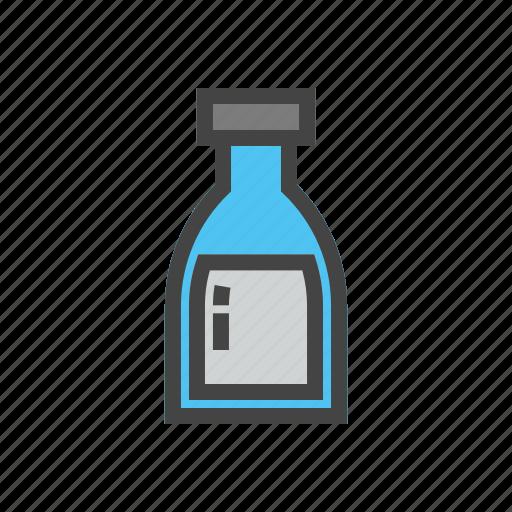 bottle, chef, cook, food, kitchen, milk icon