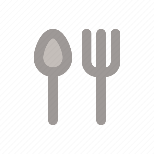 cutlery, fork, kitchen, knife icon