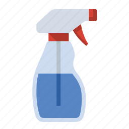 bottle, cleaner, food, glass, kitchen, spray, windo icon