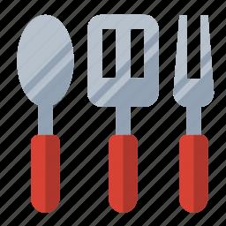 food, grill, kitchen, utensils icon