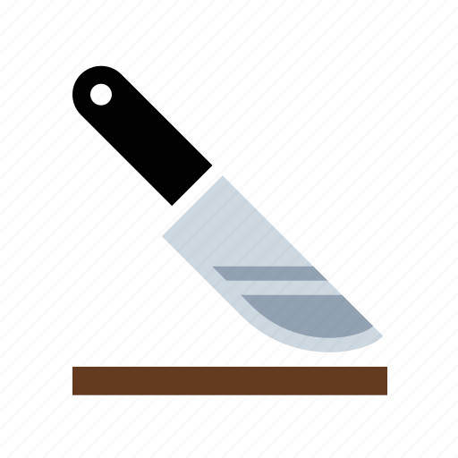 chop, cut, food, kitchen, knife icon