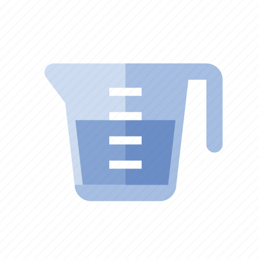 cup, food, kitchen, measuring icon