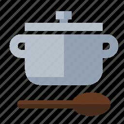 food, kitchen, pot icon