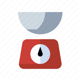 food, kitchen, scale, weight icon