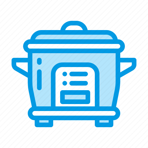 appliance, cooker, kitchen, rice icon