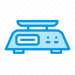 appliance, food, kitchen, scales icon