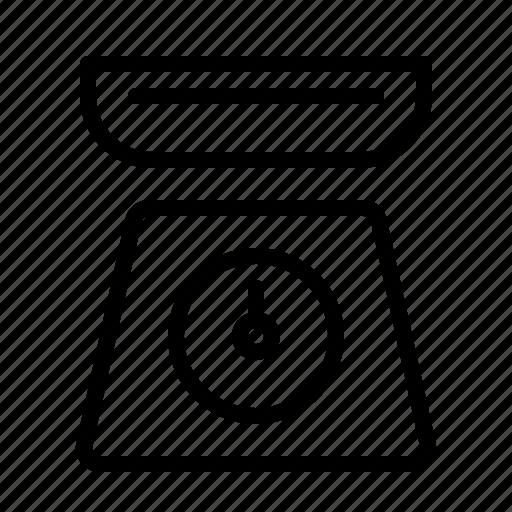 kitchen, restaurant, scales, utensil icon