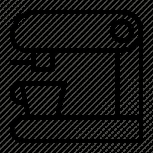 Coffee, coffee maker, drink, kitchen icon - Download on Iconfinder