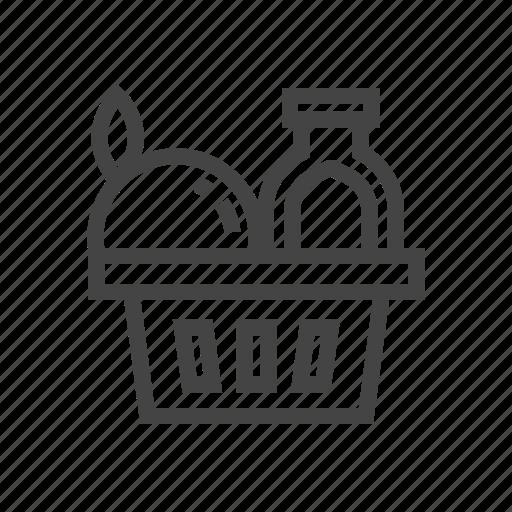 chef, cook, food, fruit, kitchen, parcel, vegetable icon