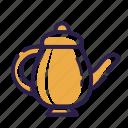 coffee, cooking, drink, kitchen, set, tea, teapot icon