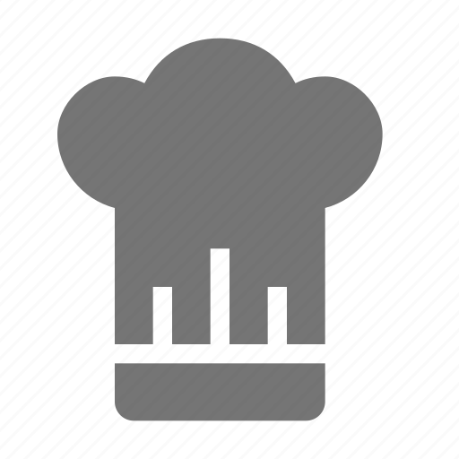 chef, hat, kitchen icon