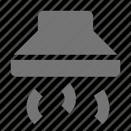 fan, hood, kitchen, vent icon