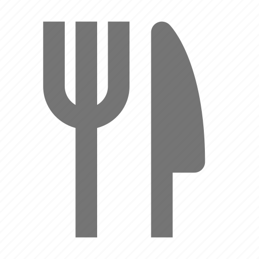 fork, kitchen, knife icon