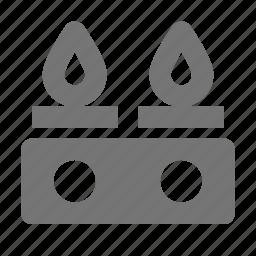 appliance, flame, gas stove, kitchen, stove icon