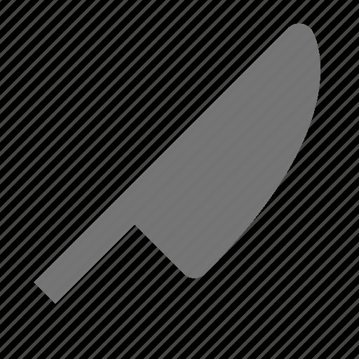 kitchen, knife icon