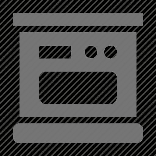 appliance, kitchen, oven icon