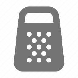 grater, kitchen, shredder icon