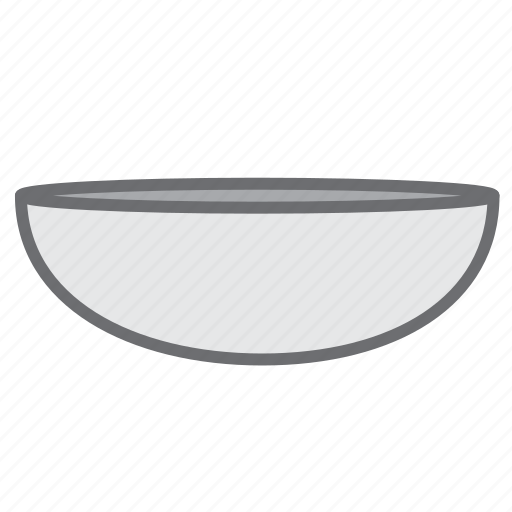 bowl, dish, dishware, food, kitchen, kitchenware, tableware icon