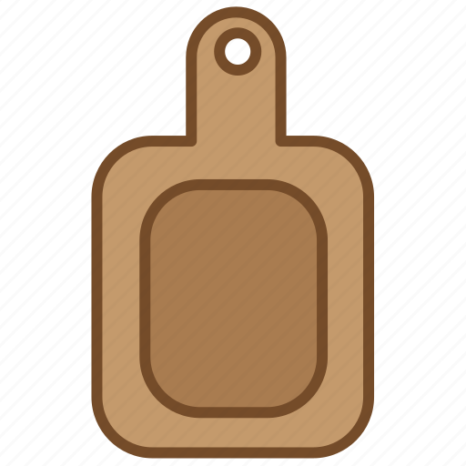 board, cooking, cutting, kitchen, object, wood, wooden icon