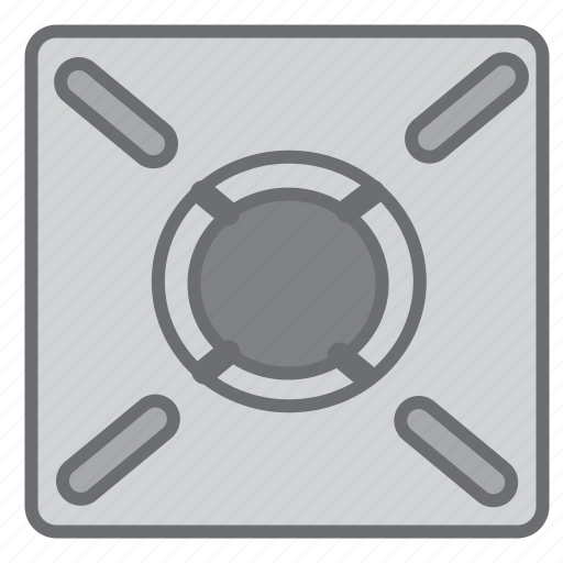 Burner, cook, cooking, gas, heat, kitchen, stove icon - Download on Iconfinder