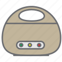 cooker electric, food, kitchen, kitchenware, pot, rice icon