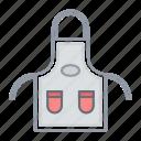 apron, bib, chef, cooking, kitchen