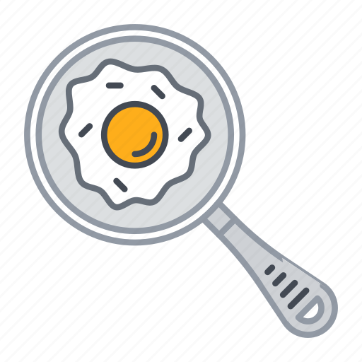 bread, breakfast, egg, food, kitchen icon