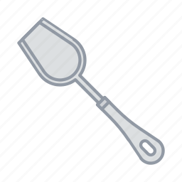 cooking, kitchen, spatula, tool, turner icon