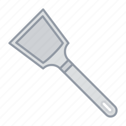 cooking, food, kitchen, spatula, tool, toos, turner icon